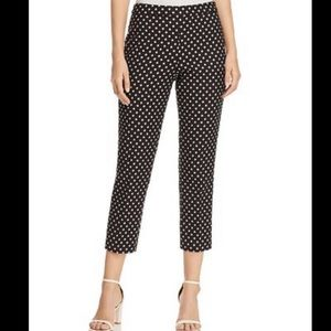 NWT Kate Spade diamond jacquard cigarette pants
